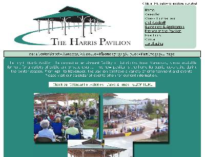 Web hosting customerThe Harris Pavilion - The newest entertainment facility in Historic Old Town Manassas