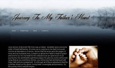 Journey To My Fathers Heart client - professional web site design