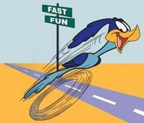 Cartoons-Road-runner